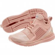 Puma IGNITE Limitless Running Shoes Womens Peach Beige (994HMTUG)